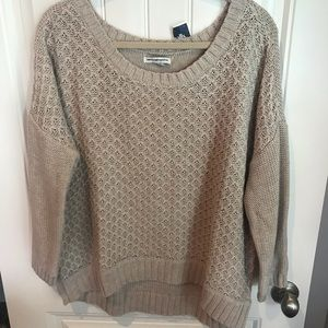 American Eagle XL sweater high low NWT